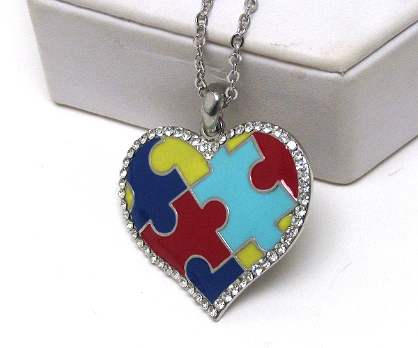 Autism Awareness Jewelry Items Proceeds donated to Canines For