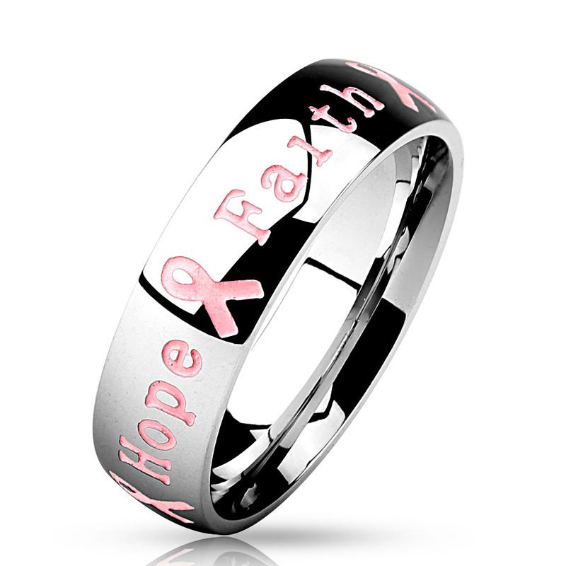 Women/'s Breast Cancer Survivor Heart Shaped Charm Pink Crystal Bracelet ~ Hope ~ Motivational ~ Gift for Women