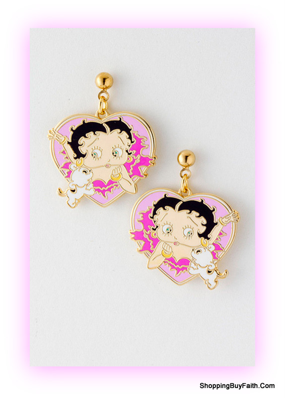 Shop Betty Boop Jewelry Handbags Wallets Household Items